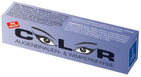Meestercoiffeur wimperverf blauw