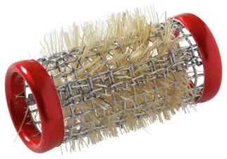 Kruller metaal kort 18 mm 12 st rood 3120189