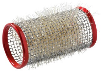 Kruller metaal 36 mm 12 st rood 3123639
