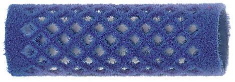 Fluweelroller lang 21 mm 12 st Blauw 4122149