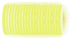 Kruller zelfklevend 32 mm 12 st geel