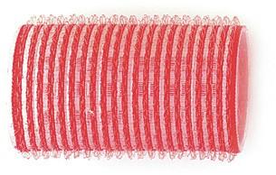 Kruller zelfklevend 36 mm 12 st rood