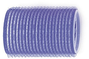 Kruller zelfklevend 40 mm 6 st blauw