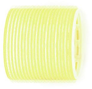 Kruller zelfklevend 66 mm 6 st geel
