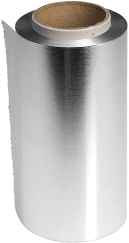 Sibel High-Light rol aluminium folie zilver