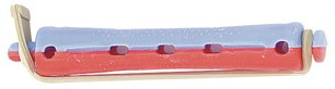Permanentwikkel Kort Bi-color Blauw-Rood