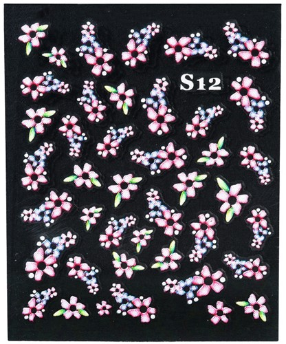 Nail Art 3D stickers S12 6102002