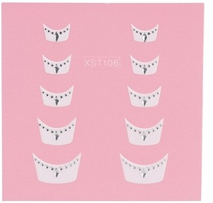 Nail Art 3D stickers XST106 6102004