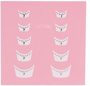 Nail Art 3D stickers XST106 6102004