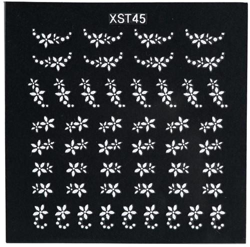 Nail Art 3D stickers XST45 6102010