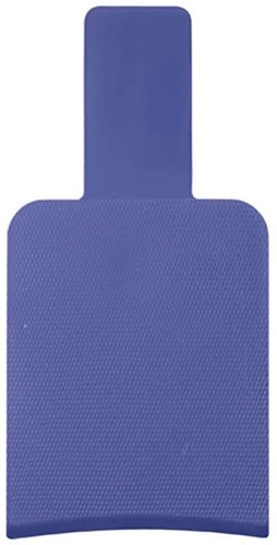 Spatel plastic blauw 841870104