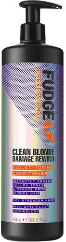 Fudge Clean Blonde Damage Rewind Conditioner (1000 ml)
