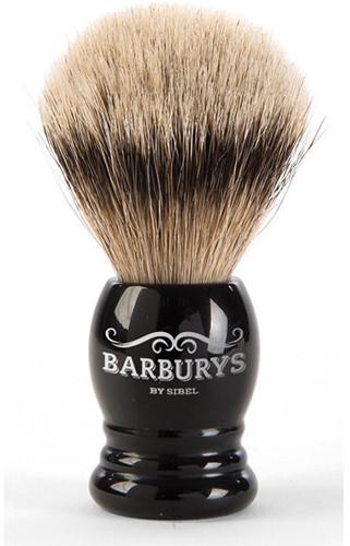 Barburys Scheerkwast Silver Gloss