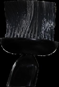 Nekkwast zwart