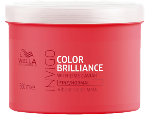 Wella Invigo Brilliance Mask voor fijn en normaal haar 500 ml