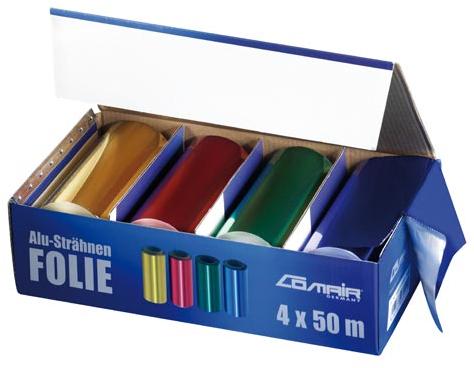 Aluminium folie 4 kleuren 7000579