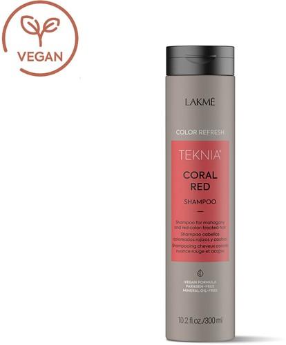 Lakmé Teknia Refresh Coral Red Shampoo (300 ml)