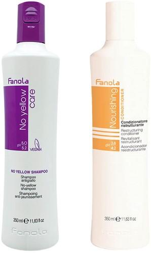 Fanola No Yellow + Nourishing Set - 350 ml