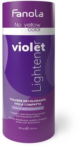 Fanola No Yellow Color Violet Lightener - blondeerpoeder (450gr)
