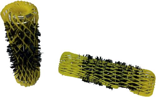 Flexibele metalen watergolfrollers 20 mm 12 st