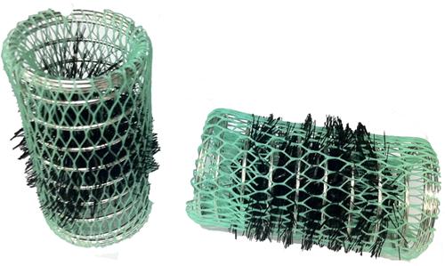Flexibele metalen watergolfrollers 40 mm 12 st