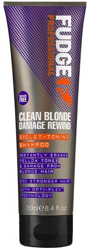 Fudge Clean Blonde Damage Rewind Shampoo - 250 ml