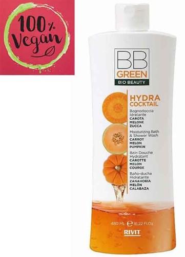 BB Green - Hydra Cocktail - Moisturizing Bath & Shower Wash (480 ml)