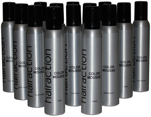 Hairaction Color Mousse Rood (Intensief)