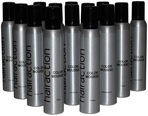 Hairaction Color Mousse Grafiet