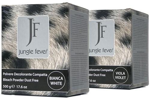 Jungle Fever blondeerpoeder 500 gr dust free white