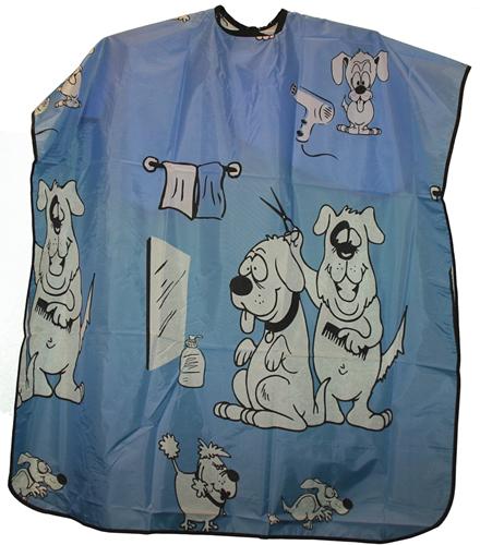 Kinderkapmantel Hond blauw