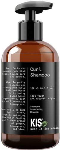 KIS Green Curl Shampoo - 250 ml