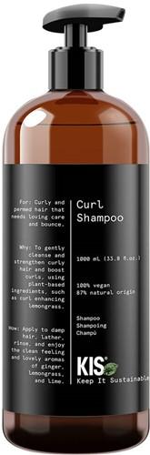 KIS Green Curl Shampoo - 1000 ml