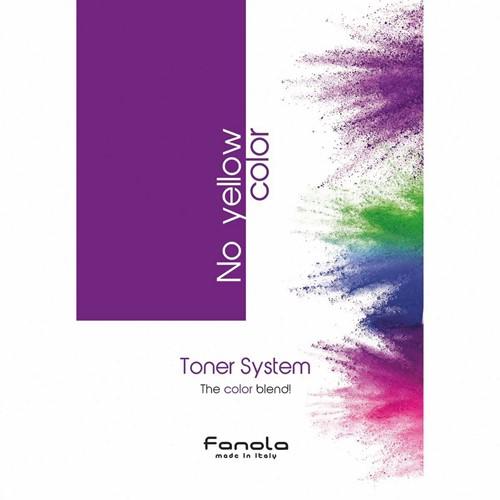 Fanola No Yellow Toner Kleurenkaart