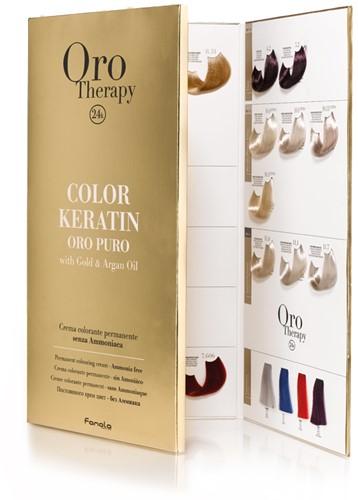 Fanola Orotherapy Oro Color Kleurenkaart