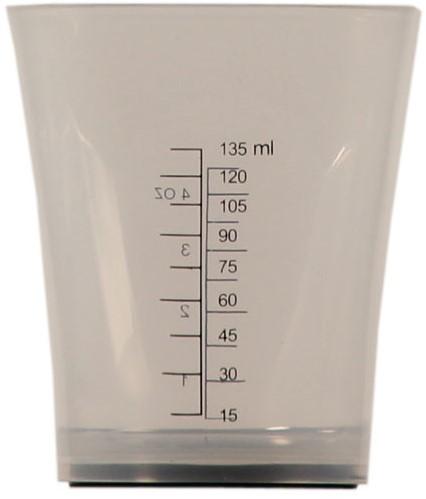 Maatbeker 135 ml