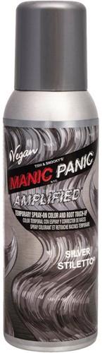 Manic Panic Amplified Temporary Spray - Silver Stiletto - 100 ml