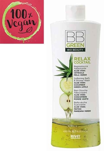 BB Green - Relax Cocktail - Softening Bath & Shower Wash (480 ml)