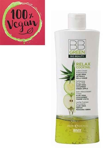 BB Green  - Relax Cocktail - Softening Body Milk (250 ml)
