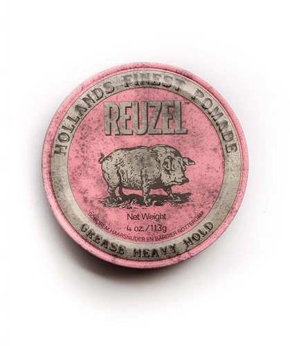Reuzel Grease Heavy Hold Pomade Pink 113 gram