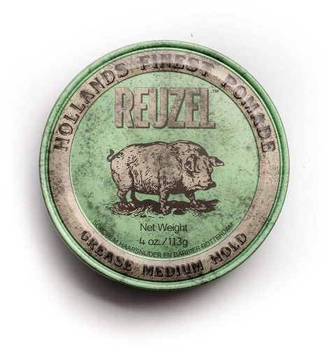 Reuzel Grease medium Hold Pomade Green 113 gram