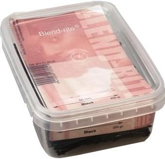 Blend rite schuifspelden doos 250 gr zwart 65 mm 970016502