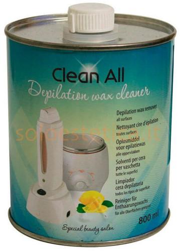 Clean All oplosmiddel voor epilatiewas 7411002