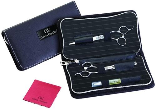 Olivia Garden SilkCut Pro Combipack Knipschaar + Effileerschaar
