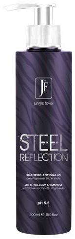 Jungle Fever Steel Reflection No-Yellow Shampoo (500 ml)