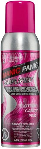 Manic Panic Amplified Temporary Spray - Cotton Candy - 100 ml
