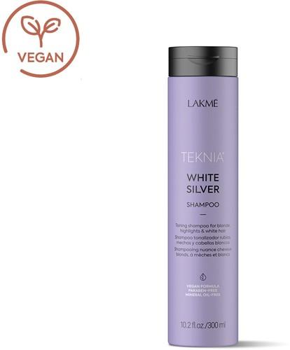 Lakmé Teknia White Silver Shampoo (300 ml)